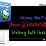 Fix lỗi IDM không bắt được link