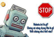 Robots.txt là gì? Chúng có công dụng file là gì? Viết chúng như thế nào?