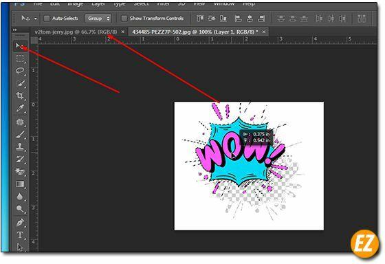 Cách cắt ghép ảnh trong Photoshop