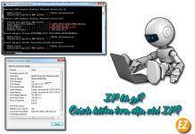 IP là gì? Cách kiểm tra địa chỉ IP?