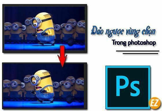 đảo ngược vùng chọn trong photoshop