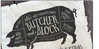 Font chữ Butcher & Block Việt Hoá