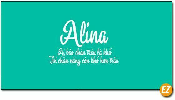 Font chữ Alina Việt Hoá