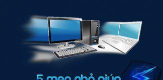 5 mẹo tăng tốc máy tính thuộc hệ điều hành windows 7 8 8.1 10