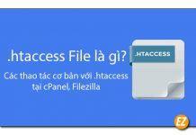 File htaccess là gì? các thao tác cơ bản với htacess tại cpanle, filezilla