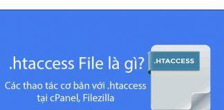File htaccess là gì? các thao tác cơ bản với htacess tạ