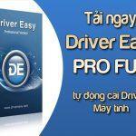 tải driver easy pro full tự động cài đặt driver