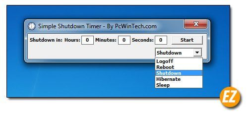 top phần mềm hẹn giờ tắt, khởi động, khóa máy tính