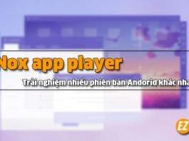 cài đặt Nox app player