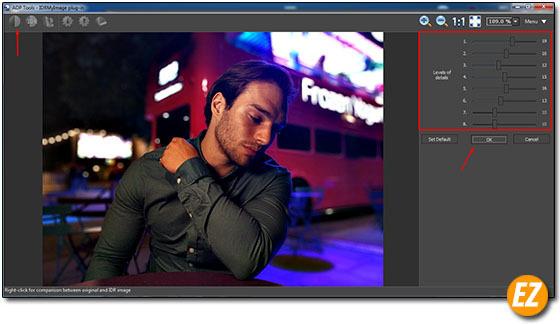 điều chỉnh độ tương phản theo level của hình ảnh bằng Plugin IDR