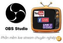 download obs studio phần mêm live stream trực tuyến