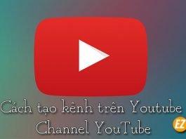 cách tạo kênh trên youtube
