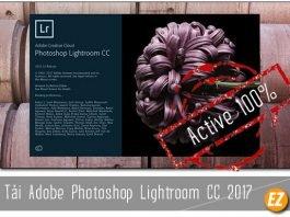 Tải adobe photoshop lightroom cc 2017