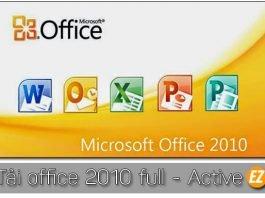 tải offilce 2010 full