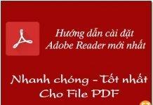 Cái đặt Adobe Reader mới nhất