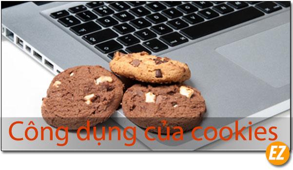 Công dụng của cookies