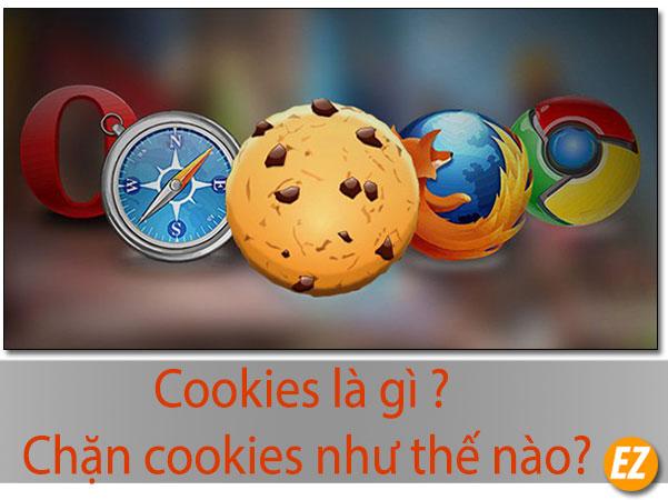 Cookies là gì? Chặn cookies như thế nào