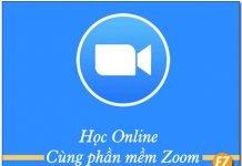 Học Online cùng phần mềm zoom