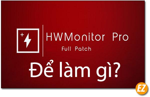 HWMonitor để làm gì
