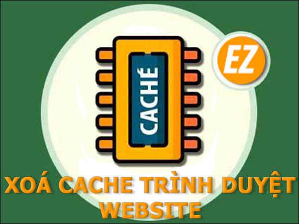 Xoá cache trên trình duyệt website