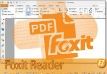 Foxit reader phần mềm đọc file pdf