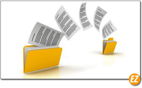 Ghi file dữ liệu trên ổ cứng