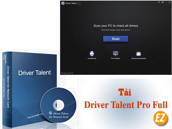 Tải Driver talent pro full kích hoạt