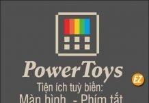 Tải Powertoys - tuỳ biến máy tính