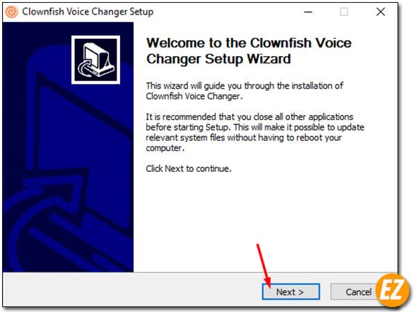 Cài đặt Clownfish Voice Changer