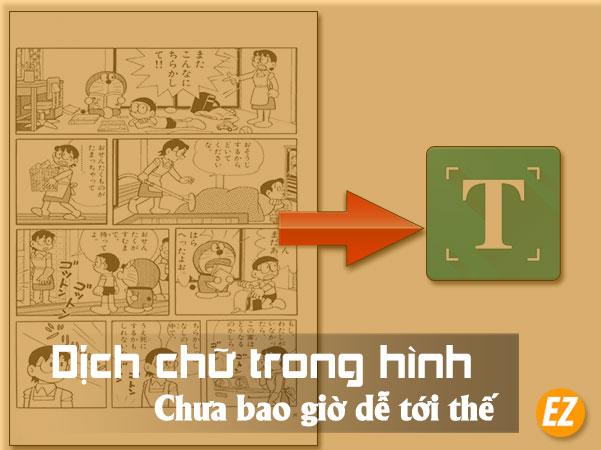 Dịch chữ trên hình