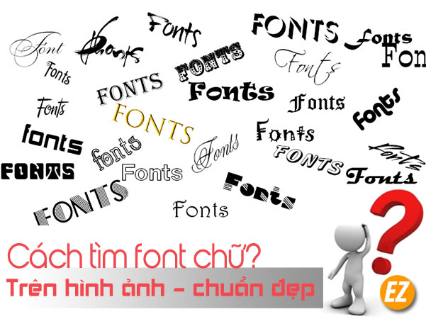 Tìm font chữ trên hình ảnh